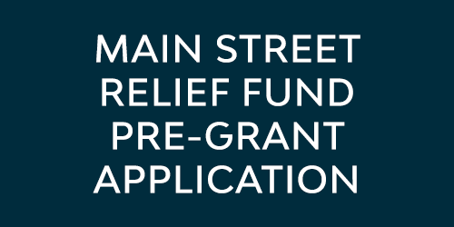 Main Street Relief Fund Pre-Grant Application