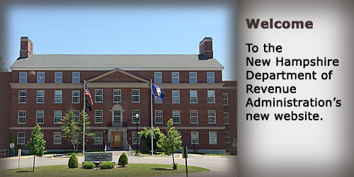 Welcome to New Hampshire Department of Revenue's new website